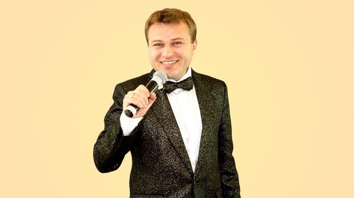 Ведущий Алексей Кожемякин